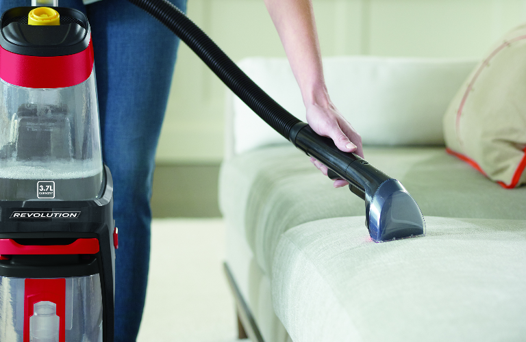 Proheat Revolution cleaning upholstery