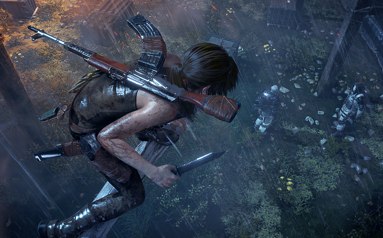 Rise of the Tomb Raider Non-Linear Combat
