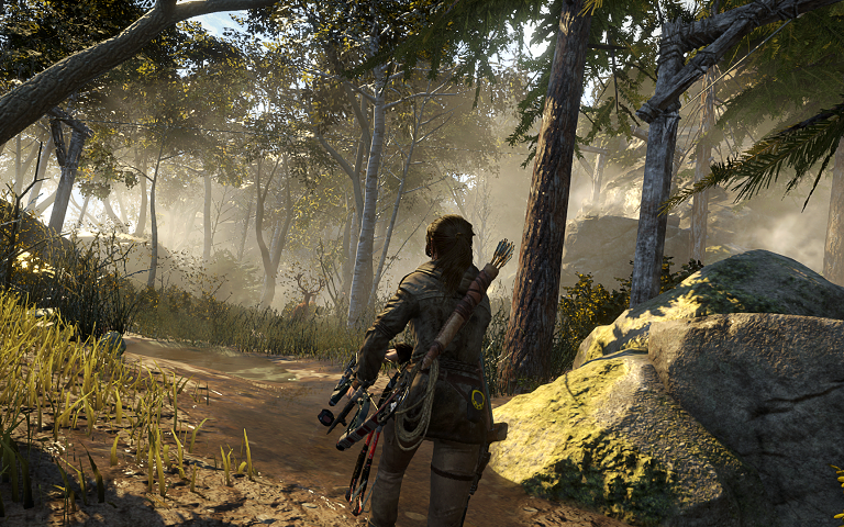 Rise of the Tomb Raider Exploration