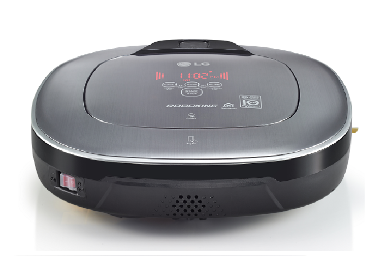 The LG Roboking Square Smart Robotic Vacuum Cleaner