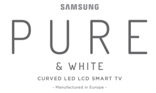 The Samsung Pure logo