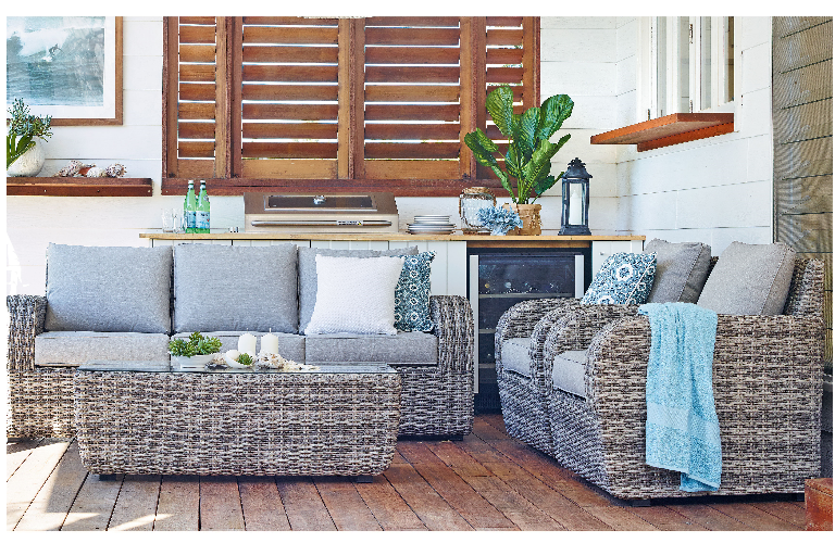 Seaford outdoor lounge suite