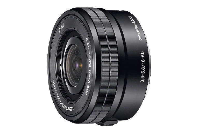 The Sony 16-50mm lens