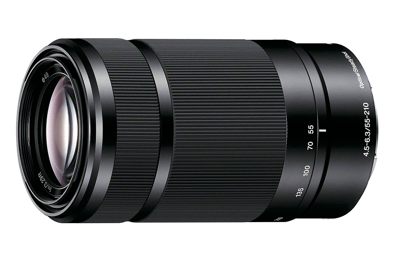 The Sony 55-210mm lens