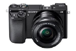 The Sony A60000 camera