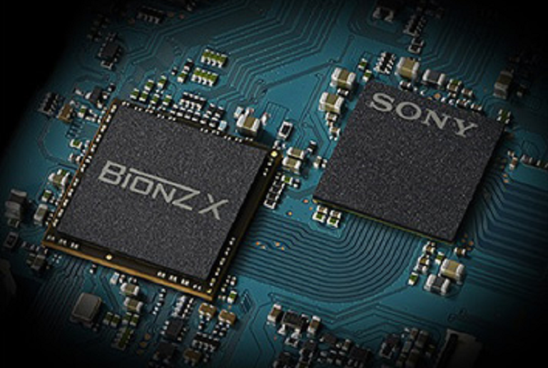 The Sony BIONZ X chip