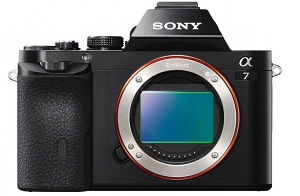 The Sony A7 Mirrorless camera