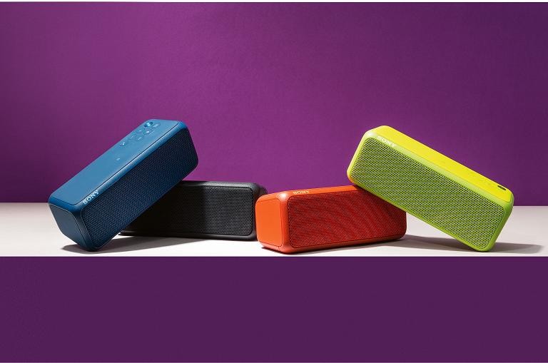 Sony XB3 portable speakers
