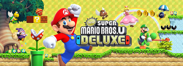 Cheap Super Mario Bros U Deluxe - Nintendo Switch | Harvey