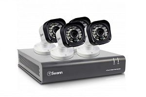 The Swann DVR4 HD Security System with 4 cameras