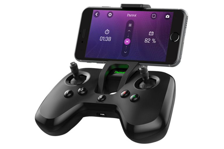 controller with phone
