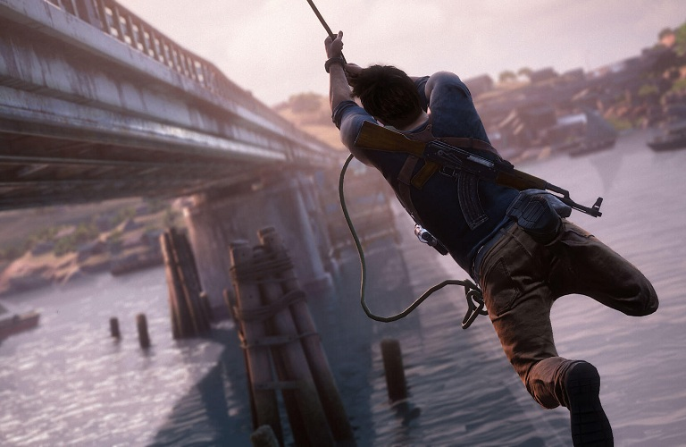 Uncharted 4 Pluzzles   and Platforming