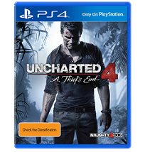 Naughty Dog's   Uncharted 4: A Thief's End - PS4