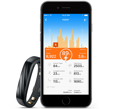 up3 Activity Tracking
