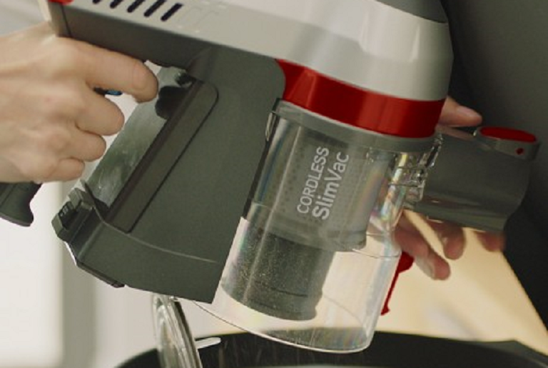 The Vax vacuum is easy to empty, clean and maintain