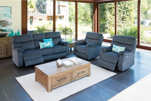 virgo powered recliner lounge suite