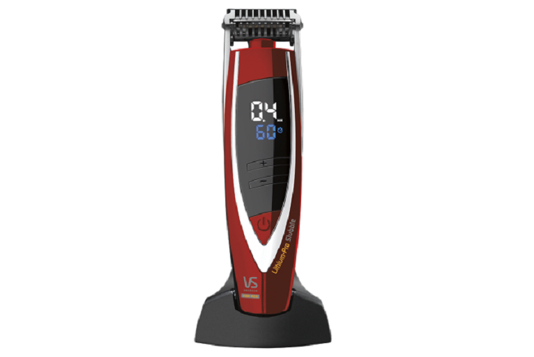 The Lithium-pro stubble trimmer and base