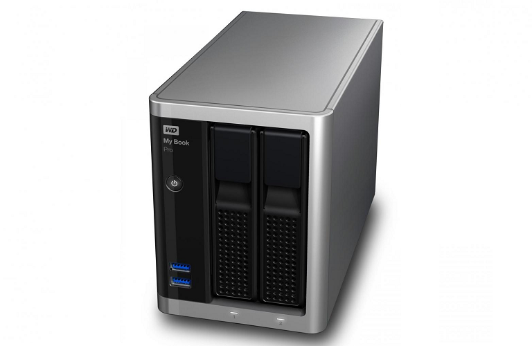 The WD desktop hard drive's sleek, modern design will complement any office space.