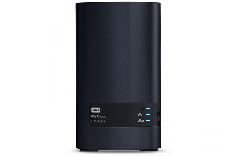The My Cloud EX2 Ultra Network Hard Drive
