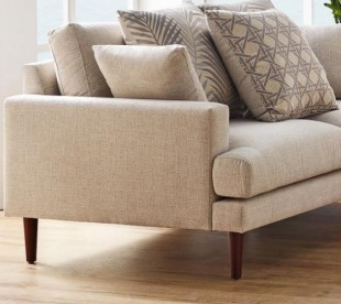 zenith fabric sofa