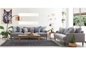 zenith fabric sofa